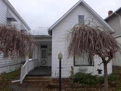 Hannibal MO Single Family Home For Sale: $49,500