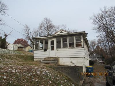 Alton IL Single Family Home For Sale: $24,900