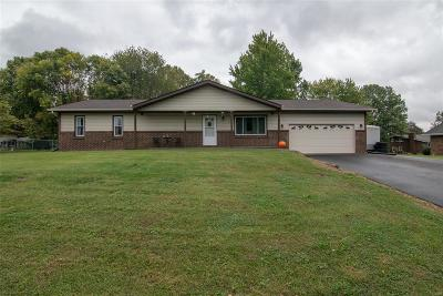 Troy IL Single Family Home For Sale: $185,900