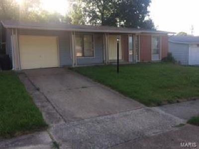 Florissant Single Family Home Contingent Short Sale: 11494 Altozano Lane