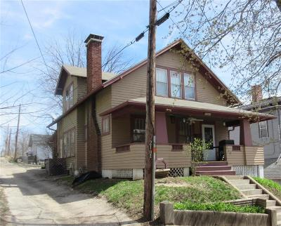 Hannibal MO Single Family Home For Sale: $99,000