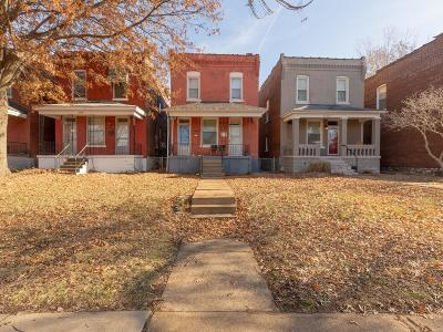St Louis City County Multi Family Home For Sale: 2736 South 59th Street