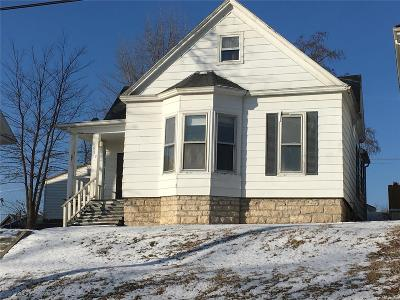 Hannibal MO Single Family Home For Sale: $63,900