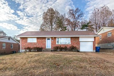 Single Family Home Contingent No Kickout: 9333 Arban Drive