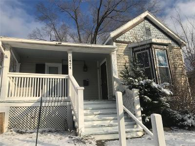 Hannibal MO Single Family Home For Sale: $45,000