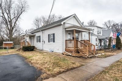 Collinsville Single Family Home Contingent No Kickout: 227 North Combs Avenue