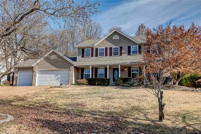 Collinsville Single Family Home Contingent No Kickout: 403 Crestwood Estates Drive