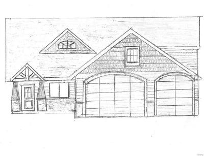 Caseyville New Construction For Sale: 1136 Pisa Drive