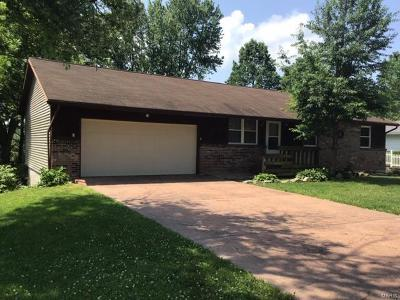 Franklin County Single Family Home For Sale: 1100 Caroline Drive