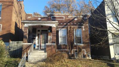 St Louis City County Single Family Home For Sale: 3632 Virginia Avenue