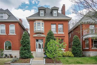 St Louis Single Family Home For Sale: 3519 Sidney Street