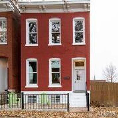 St Louis City County Single Family Home For Sale: 2648 Shenandoah Avenue