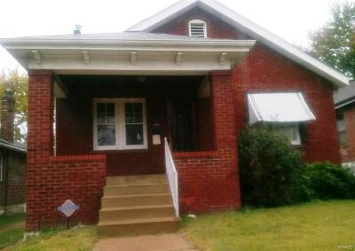 St Louis City County Single Family Home For Sale: 6151 Lalite Avenue