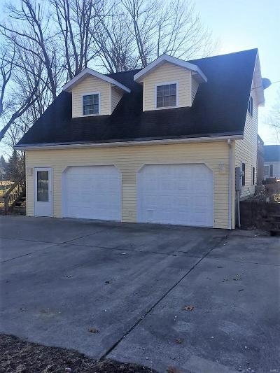 Jerseyville Single Family Home For Sale: 406 West Woodlawn Avenue
