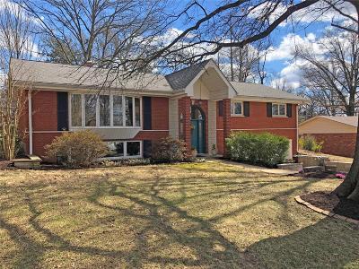 St Louis Single Family Home For Sale: 9000 Fernald Drive