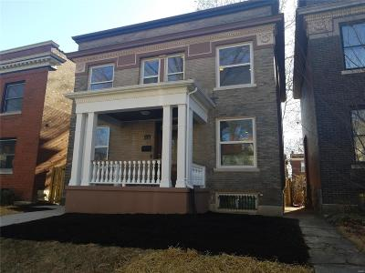 St Louis City County Single Family Home For Sale: 6174 Washington
