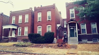St Louis City County Single Family Home For Sale: 3448 Grace Avenue