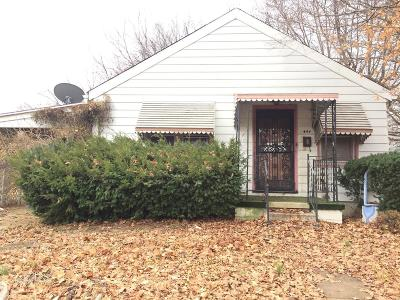 Cahokia IL Single Family Home For Sale: $20,000
