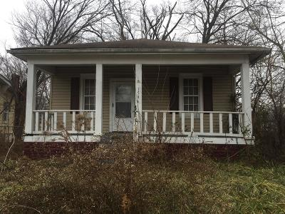 East St Louis IL Single Family Home For Sale: $13,000