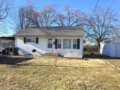 Cahokia IL Single Family Home For Sale: $22,000