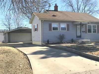 East Alton, Wood River, Roxana Single Family Home For Sale: 608 Lincoln