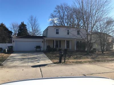 St Charles County Single Family Home For Sale: 107 Oak Drive