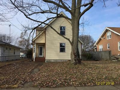 Collinsville IL Single Family Home For Sale: $54,900