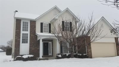O'Fallon Single Family Home Active Under Contract: 943 Prairie Crossing