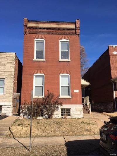 St Louis City County Multi Family Home For Sale: 3205 Dakota Street