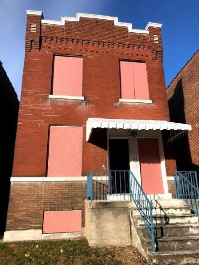 St Louis City County Single Family Home For Sale: 3333 Virginia Avenue