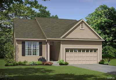 Wentzville Single Family Home For Sale: 1 Tbb- Denmark 1.5@ Copper Creek