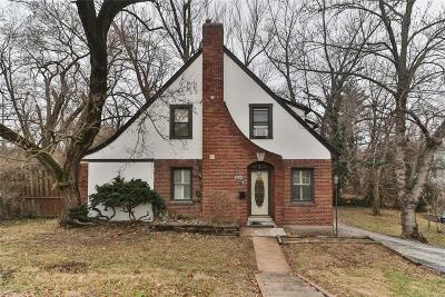 Webster Groves Single Family Home For Sale: 249 Edgar Road
