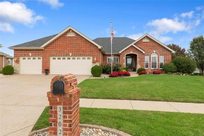 Wentzville Single Family Home For Sale: 3202 Bear Tracks Drive