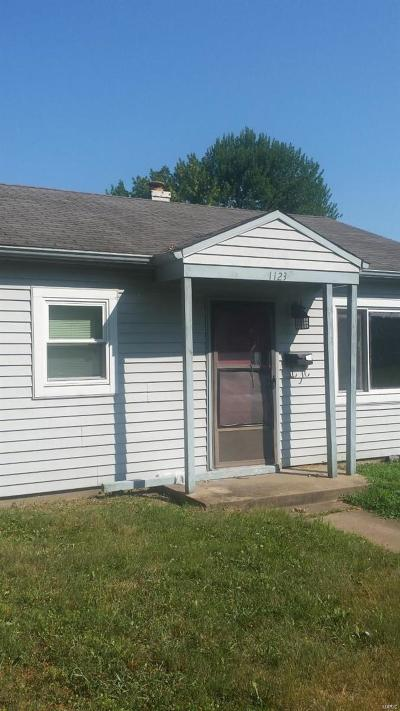 Belleville IL Single Family Home For Sale: $29,900