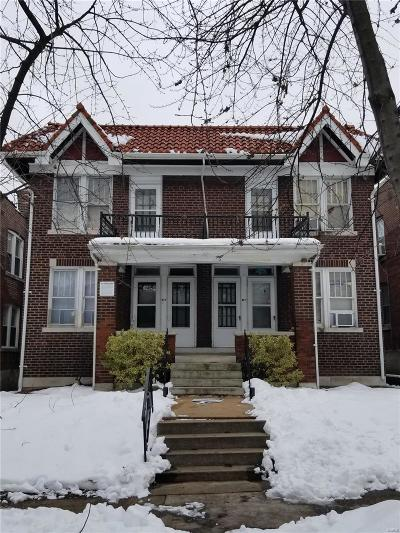 St Louis Multi Family Home For Sale: 4962 Lindenwood Avenue
