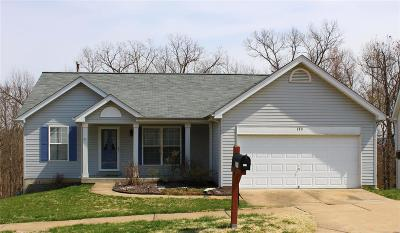 Eureka Single Family Home For Sale: 170 Hunters Lake Court