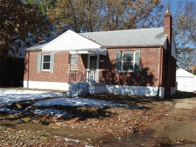St Louis Single Family Home For Sale: 6929 Plymouth Avenue