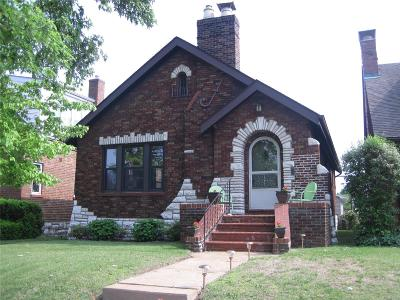 St Louis Single Family Home For Sale: 5346 Tholozan Avenue