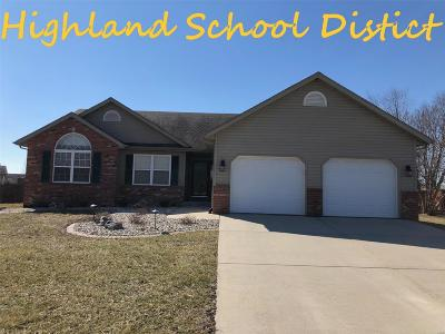Madison County Single Family Home For Sale: 3491 Pierland Drive