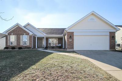 Dardenne Prairie Single Family Home Active Under Contract: 1429 Wilkesboro Drive