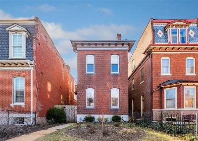 St Louis City County Single Family Home Active Under Contract: 2106 Sidney Street