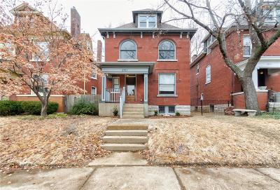 St Louis City County Single Family Home For Sale: 3701 Juniata