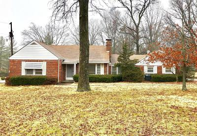 St Louis County Single Family Home For Sale: 2501 North Ballas