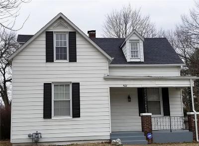 Belleville Single Family Home For Sale: 511 Wabash Avenue
