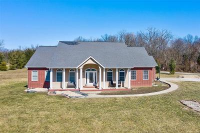 Millstadt Single Family Home For Sale: 4695 Douglas Road