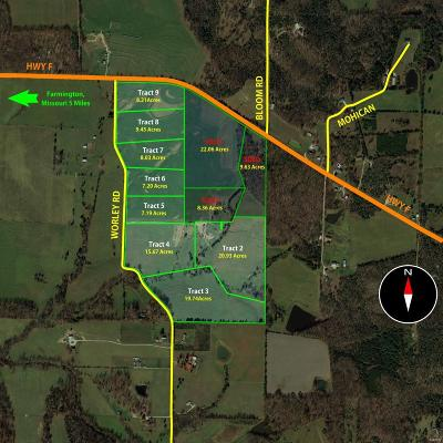 Madison County, Jefferson County, St Francois County Residential Lots & Land For Sale: 4 Worley Road