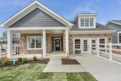 Single Family Home For Sale: 1 Courtyards Of Cottleville