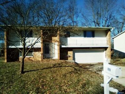 Fairview Heights Single Family Home For Sale: 609 Joseph Drive