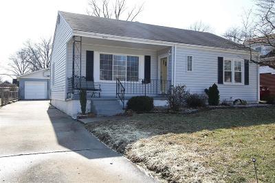 Alton Single Family Home For Sale: 927 Logan Street