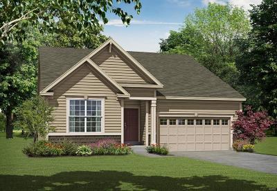 Wentzville Single Family Home For Sale: 1 Tbb-Ashton @pinewoods Estates